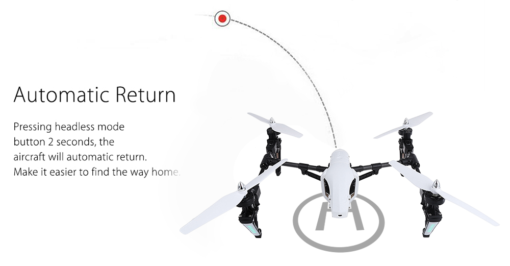 Q333 Professional RC Drone Return to Home
