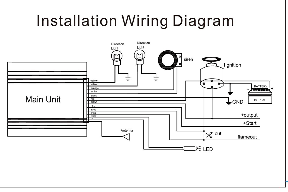 meta motorcycle alarm wiring diagram   36 wiring diagram