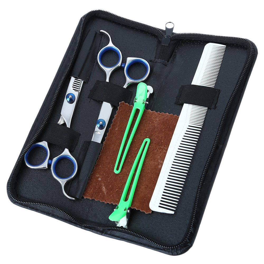 e1786c63ca816 Salon Barber Hair Cutting Thinning Scissors Shears Hairdressing Set-  Colormix