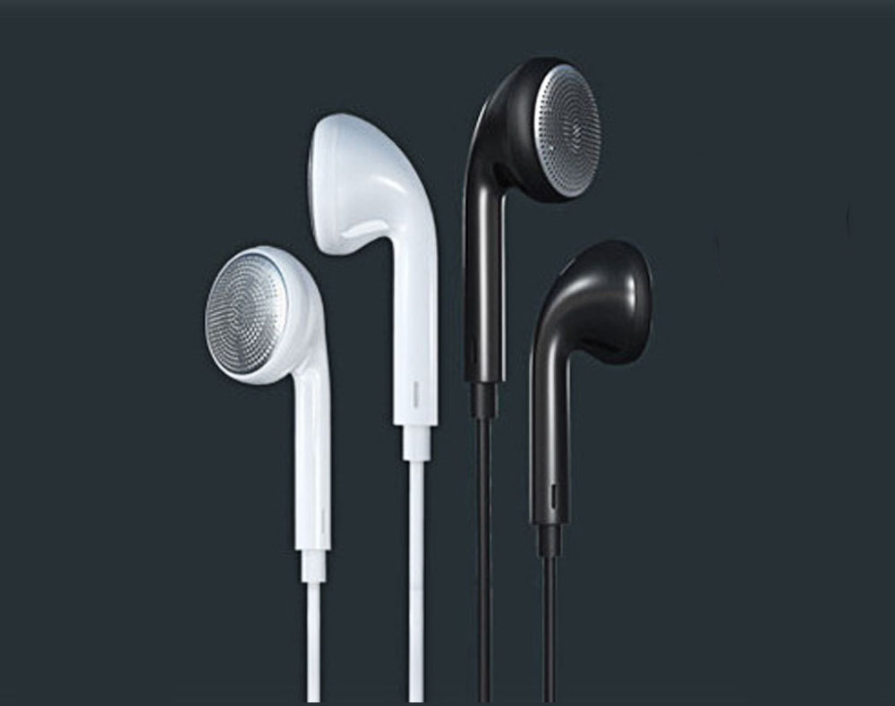 REMAX RM - 303 3.5mm Plug Headphone Pure Music Earphone- White
