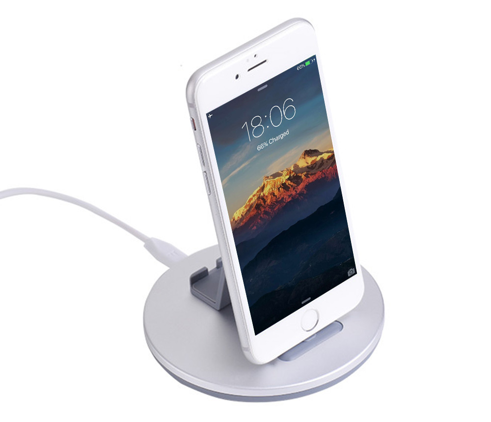 HOCO CW1 8 Pin Charge Dock Desktop Charging Stand Holder for iPhone