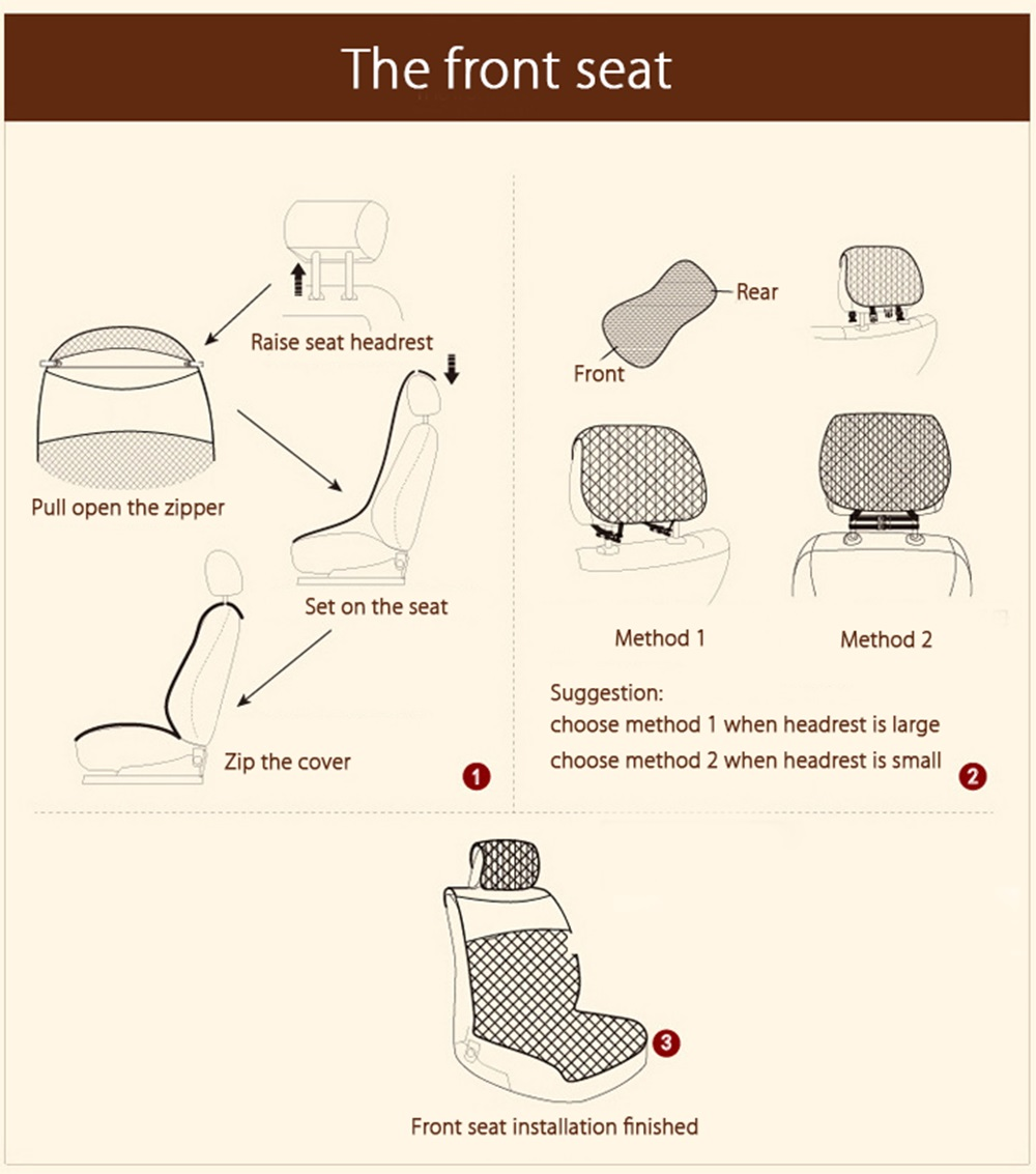 10pcs Universal Summer Ice Silk Full Car Cushion Cover 6945 Free Wiring Diagram Rover 75 Seats Package Contents 2 X Head Rest Lumbar Bolster Front Seat Back 1 Bottom Armrest