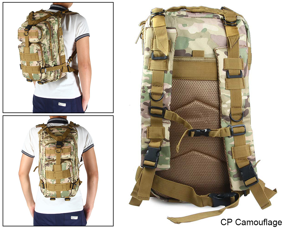 30L Outdoor Military 3P Backpack -$18.17 Online Shopping| GearBest.com