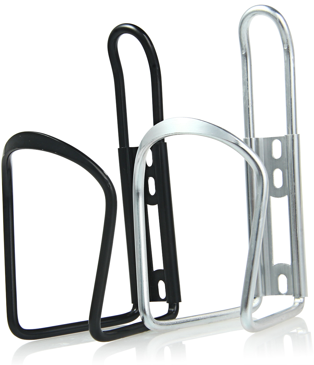 Aluminum Alloy Bike Water Bottle Holder Accessories Road Bicycle Cup Cage Rack- Black