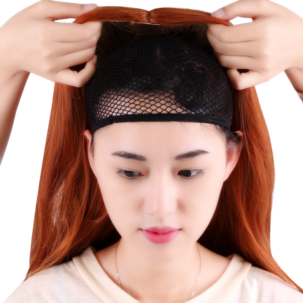 Necessary Flexible Weaving Cap Cool Mesh Hair Net For Wig 093