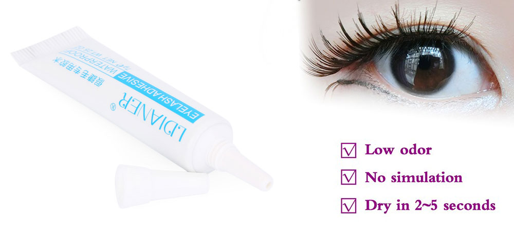 White Clear Adhesive Artificial Eyelashes Glue 149 Online