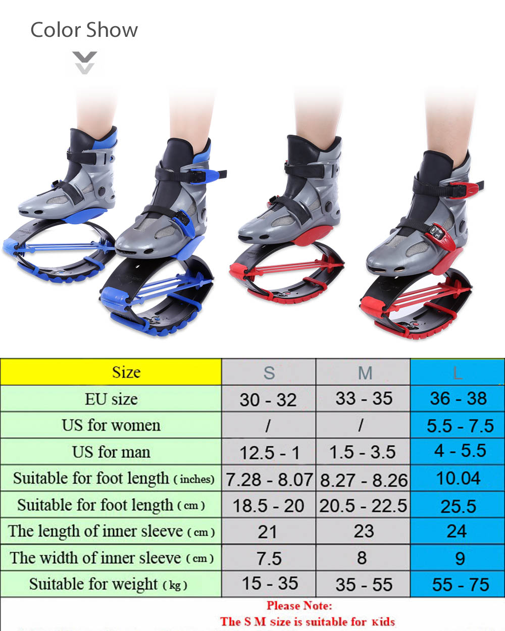 47e3dec5ad miaomiaolong Paired Kids Women Jump Shoes for Fitness Outdoor Bounce Sports