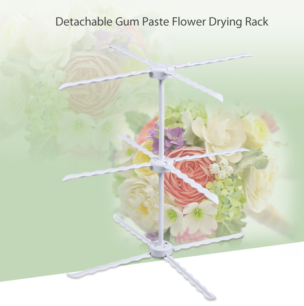 Detachable Gum Paste Flower Drying Rack Cake Decorating Dry Stand Baking Tool