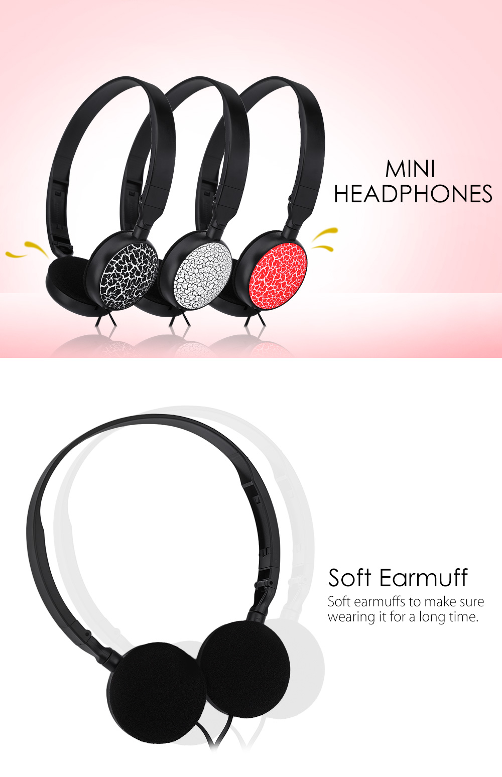 Ms 174 Mini Wired Stereo Music Headset On Ear Headphones 395 Ems Adjustable Headband Green Gold For Baby Earmuff Package Contents 1 X
