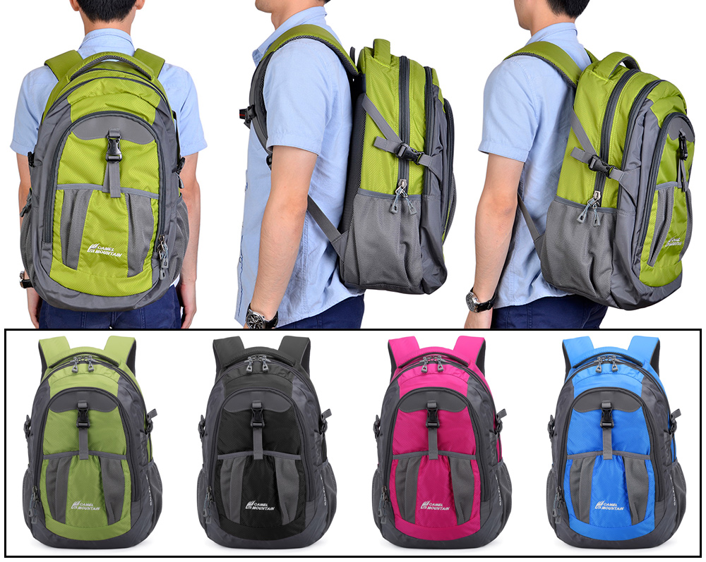 CAMEL MOUNTAIN CM661 - 1 35L Water Resistant Backpack -  29.51 Free ... a53860d797