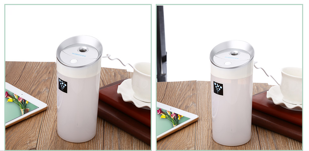 300ml usb mini cup humidifier online shopping for Living room humidifier
