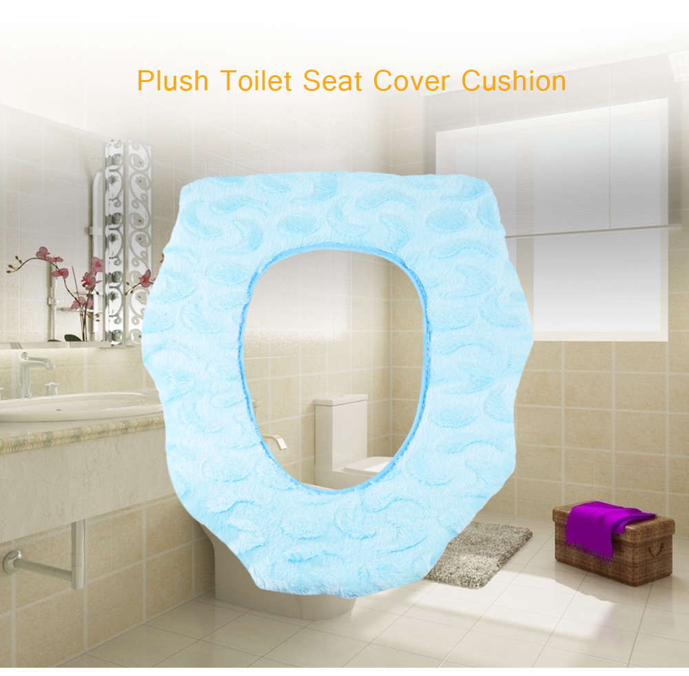 Plush Toilet Seat Cover Cushion - $2.71 Free Shipping|GearBest.com