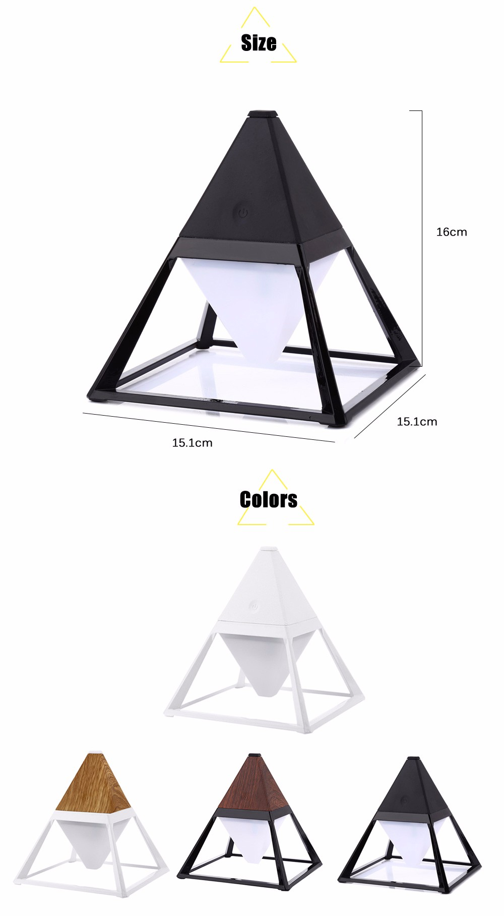 GXDiffuser AC 100 - 240V 4W Creative USB Rechargeable LED Desk Light Touch Dimmable Table Lamp