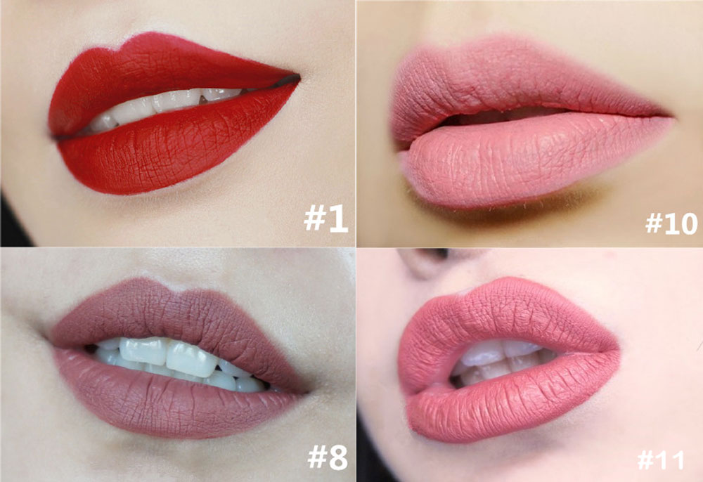 FOCALLURE Liquid Sexy Colors Matte Waterproof Long Lasting Lip Gloss- 01