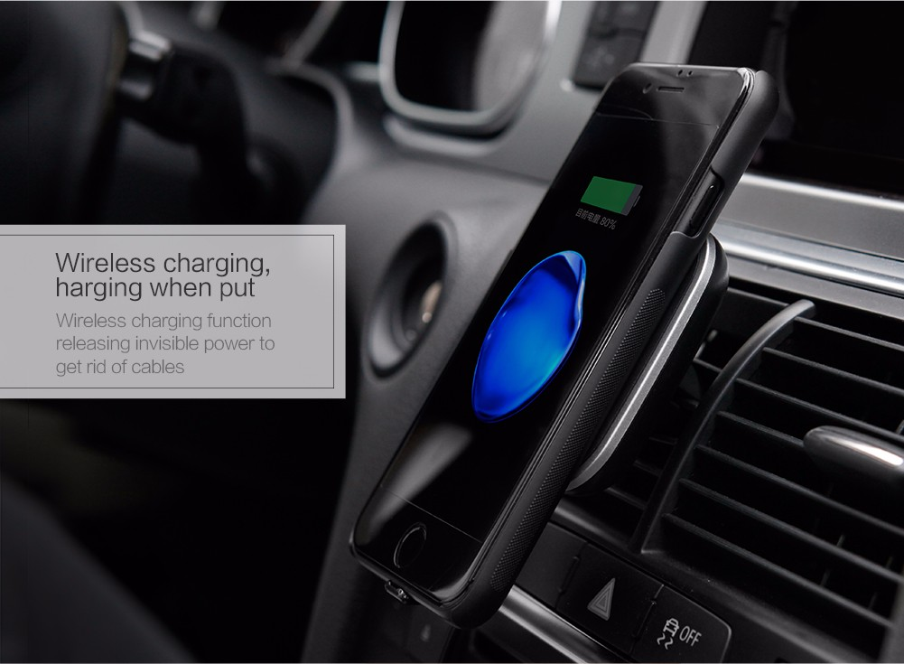 NILLKIN Qi Magnetic Car Wireless Charger Phone Stand