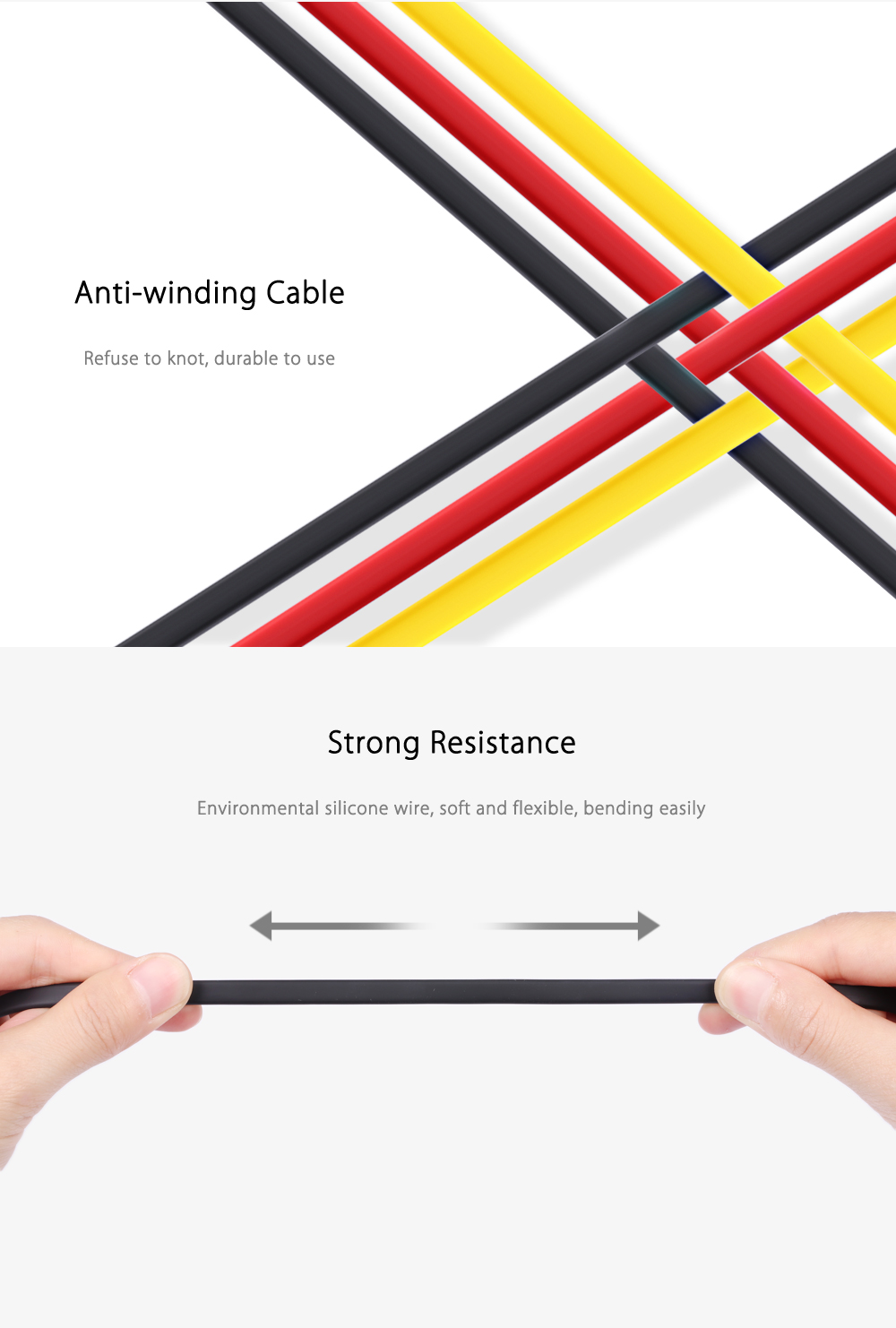 Remax Rc 001m Micro Quick Charge Amp Data Cable 1m Black