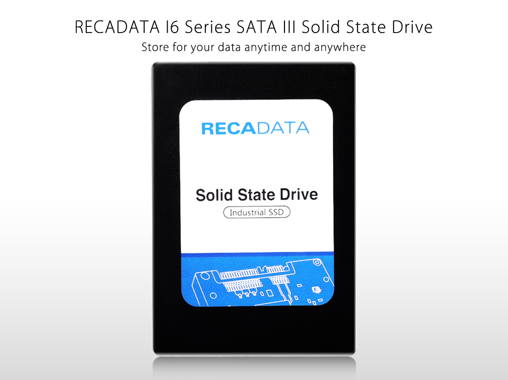 RECADATA RD - S325MCN - N1284 128GB Solid State Drive 2.5 inch Industrial SATA III SSD