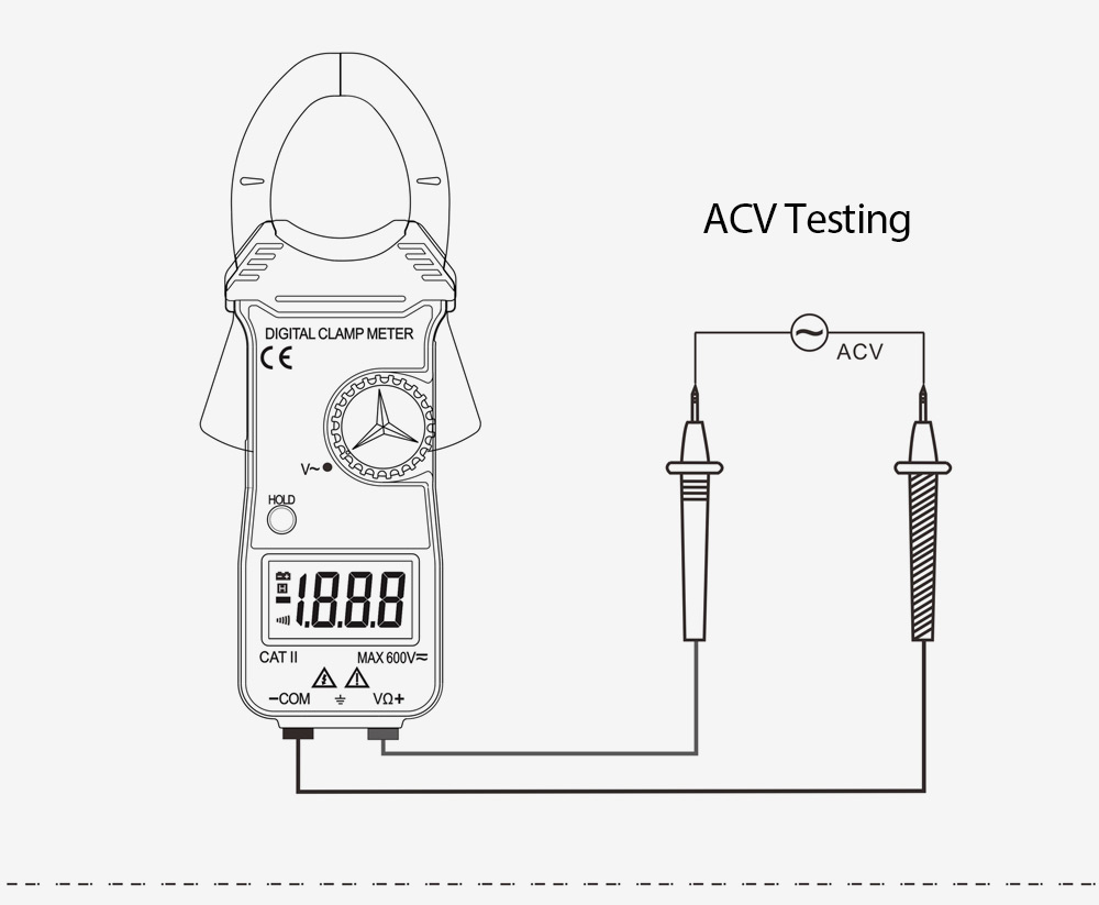 whdz dt3288c current clamp ammeter