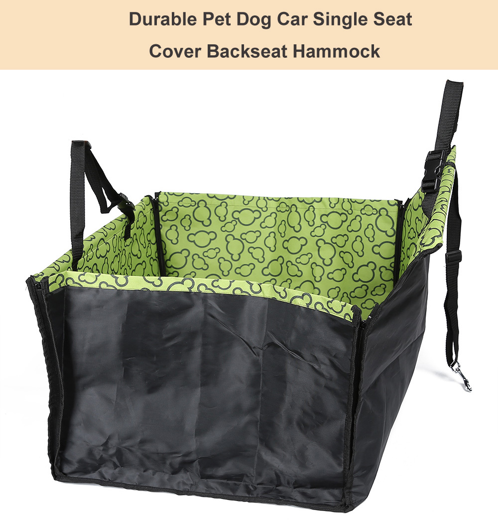 Pet Single Car Seat Cover