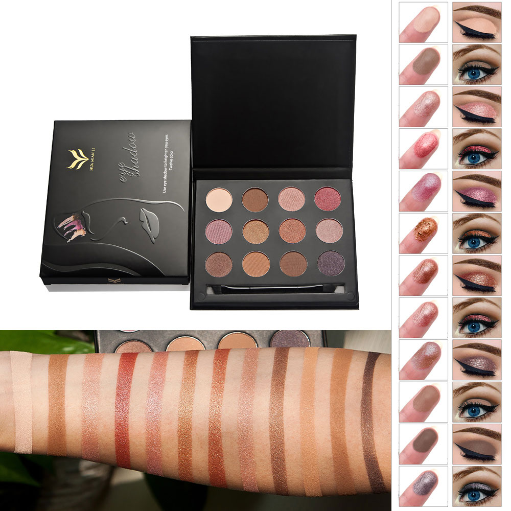 UCANBE Aromas Nude Eyeshadow Palette 18 Color Shimmer