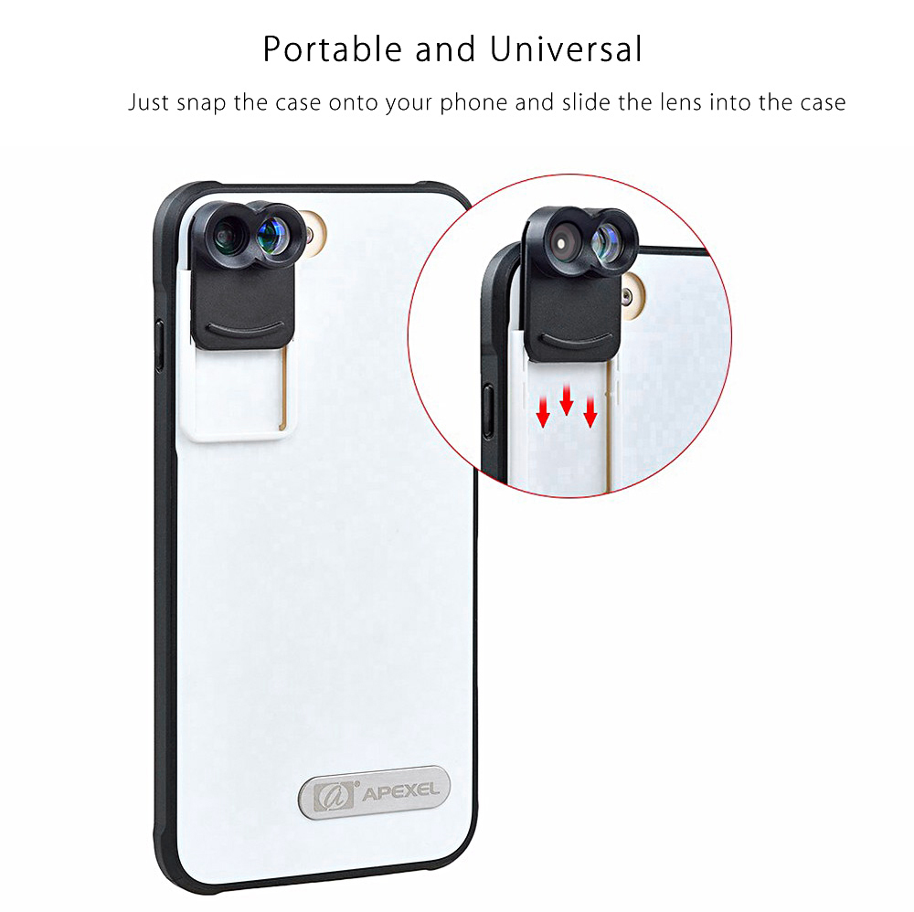 External Lens For Iphone  Plus