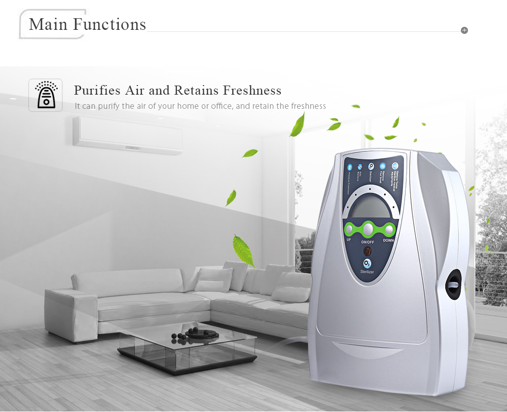 Air Purifier Ozone Disinfector - $46.96 Free Shipping|GearBest.com