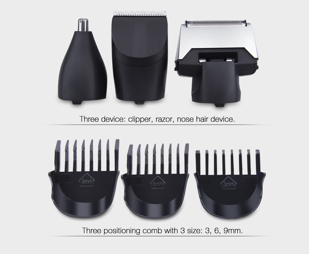 CHAOLI Electric 3 in 1 Rechargeable Reciprocating Multi-function Razor
