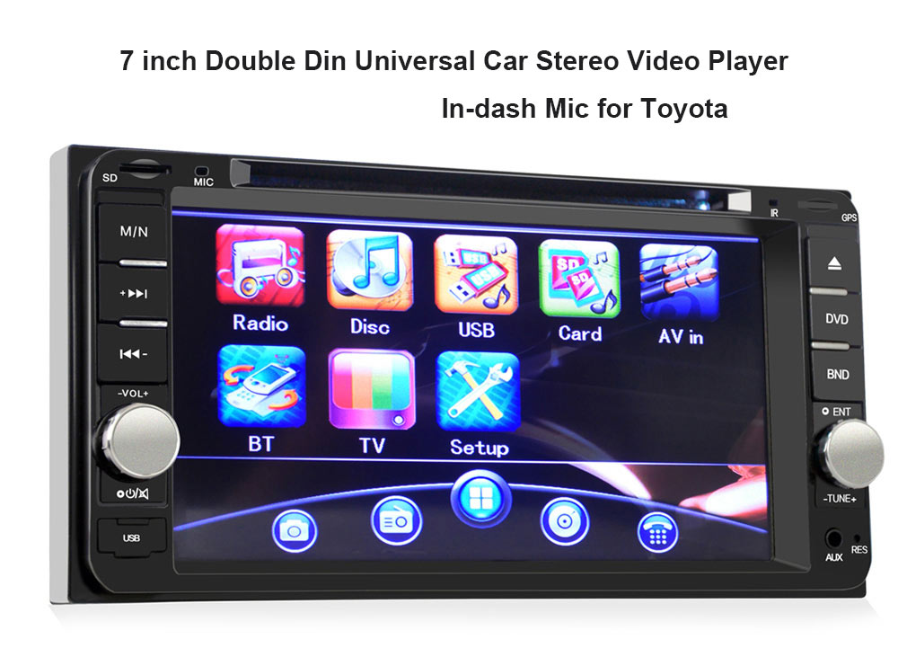 Image result for Car DVD Stereo Video Player for Toyota