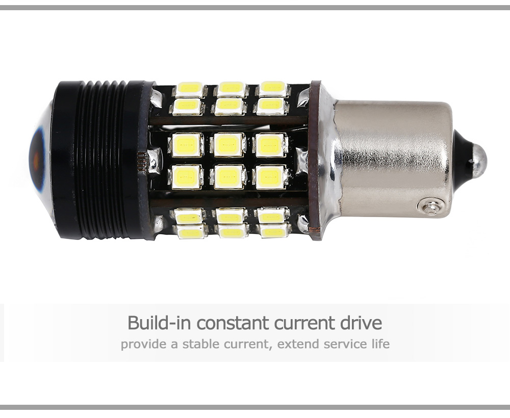 SCOE 1156 12W CREE R5 Super Brightness LED Light 12V Car Reversing Lamp Bulb