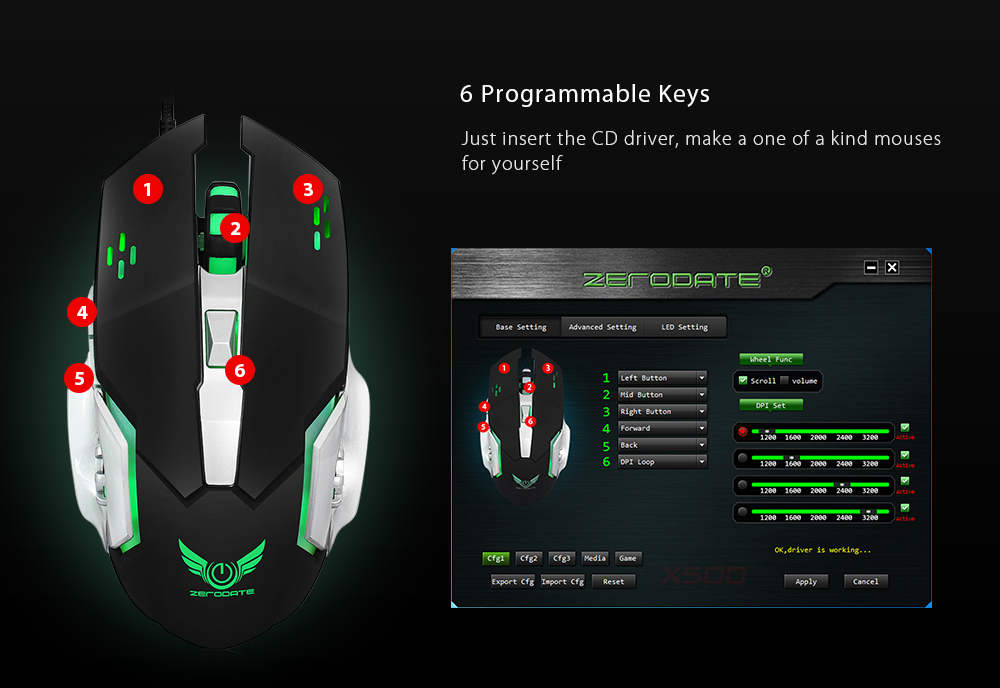 Gaming mouse драйвер