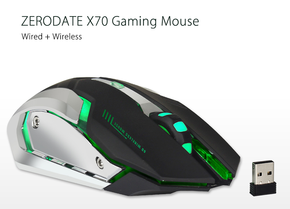 zerodate x70 gaming mouse 8 29 free shipping gearbest com