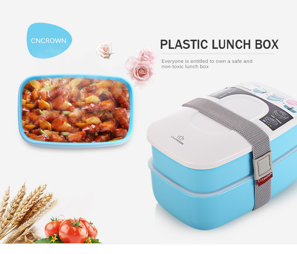 cncrown plastic bento lunch box online shopping. Black Bedroom Furniture Sets. Home Design Ideas