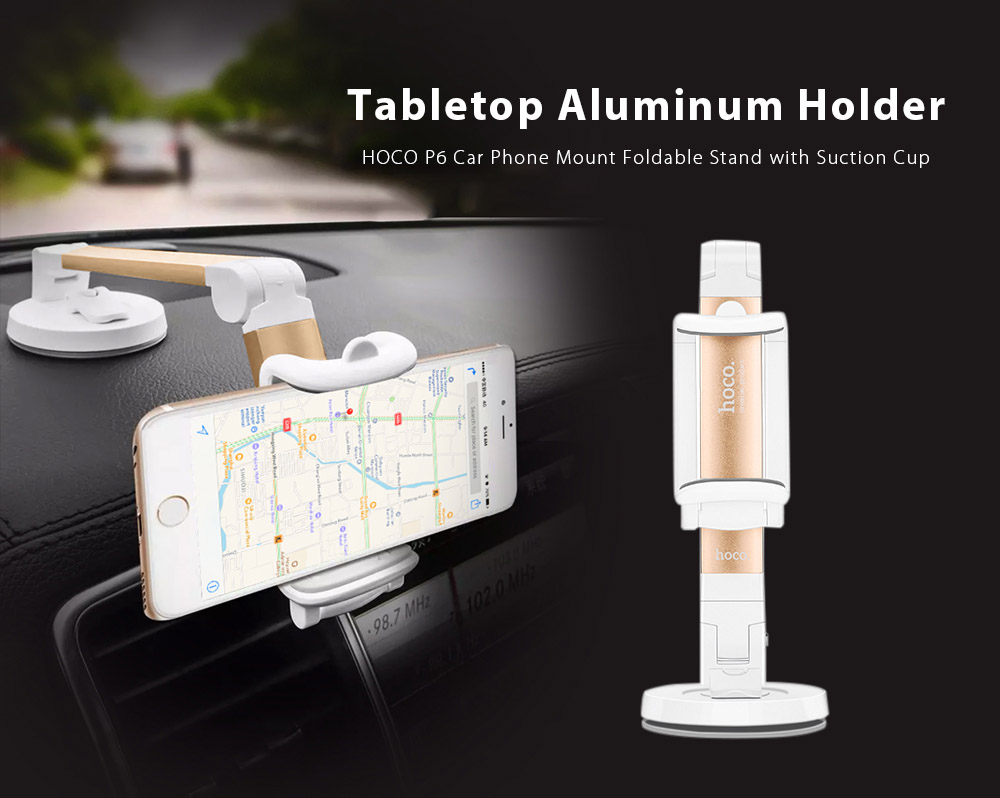 HOCO P6 Car Phone Mount Foldable Holder with Suction Cup 595