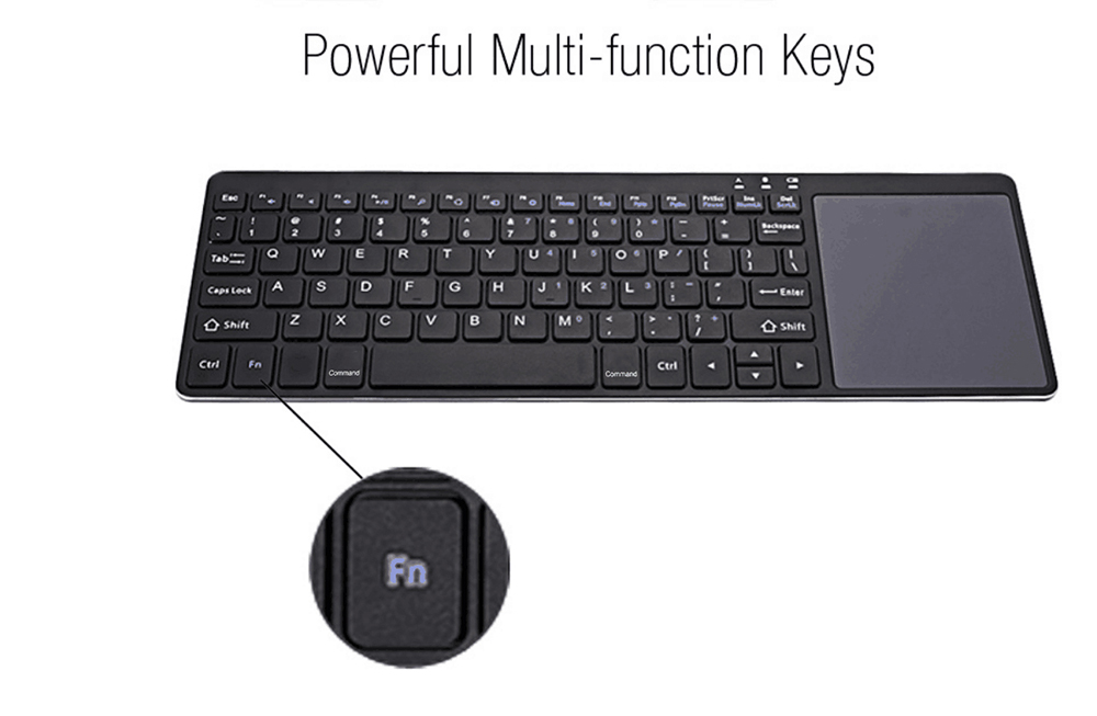 B020 Ultra-slim Lightweight Bluetooth Keyboard Touchpad