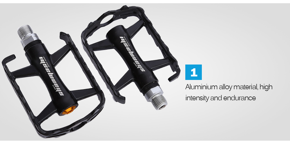 SHANMASHI Paired Aluminium Alloy Outdoor Cycling Road Mountain Bicycle Pedal