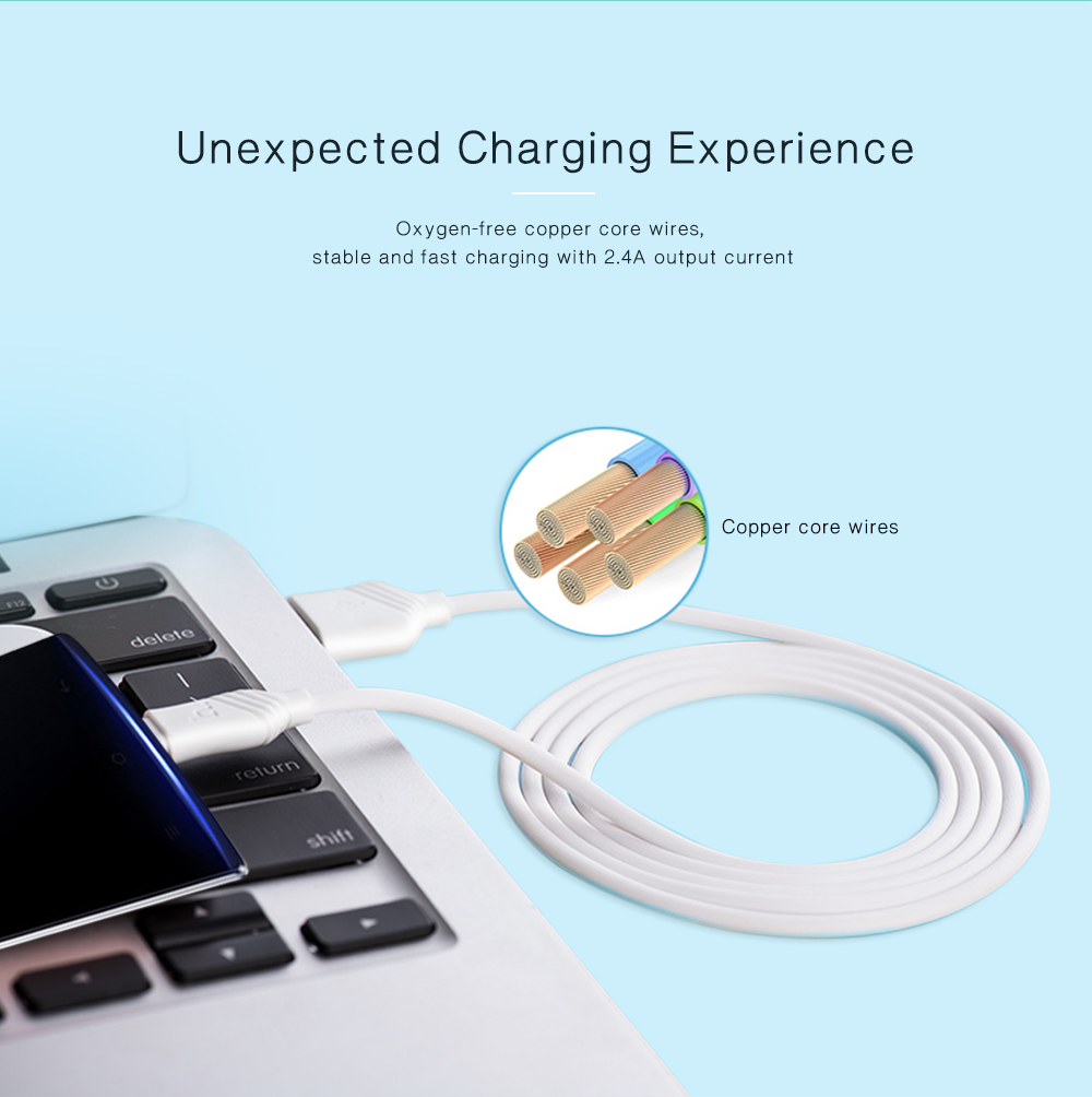 HOCO Single USB 1A Charger with Micro USB Cable 1M Set - $2.00 Free ...