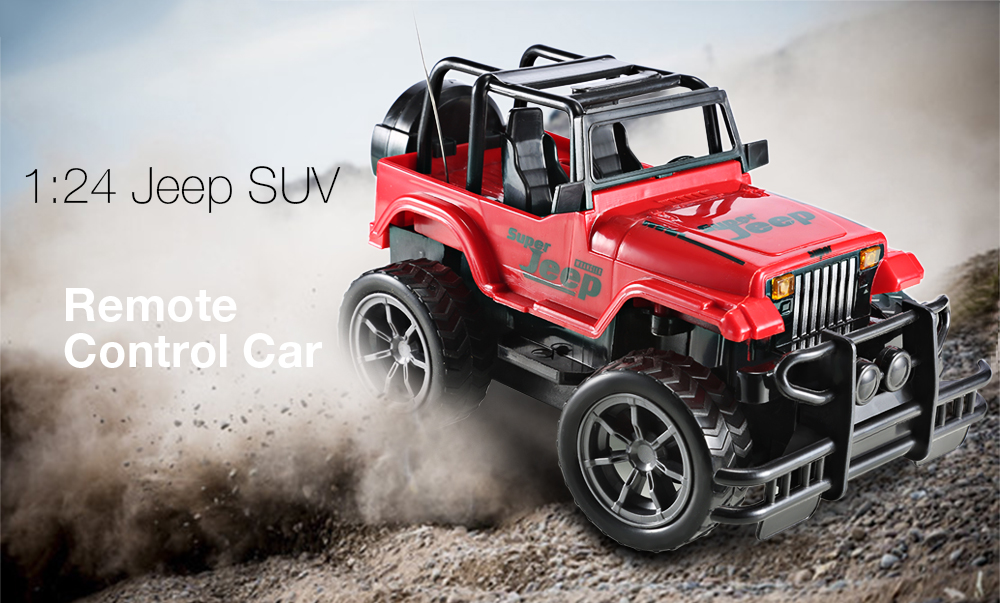 1 24 Vehicle Remote Control Car Off Road Jeep Suv Toy 11