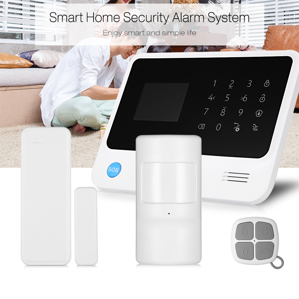 2.5 Inch LED Touch Keypad Ringer Security Home