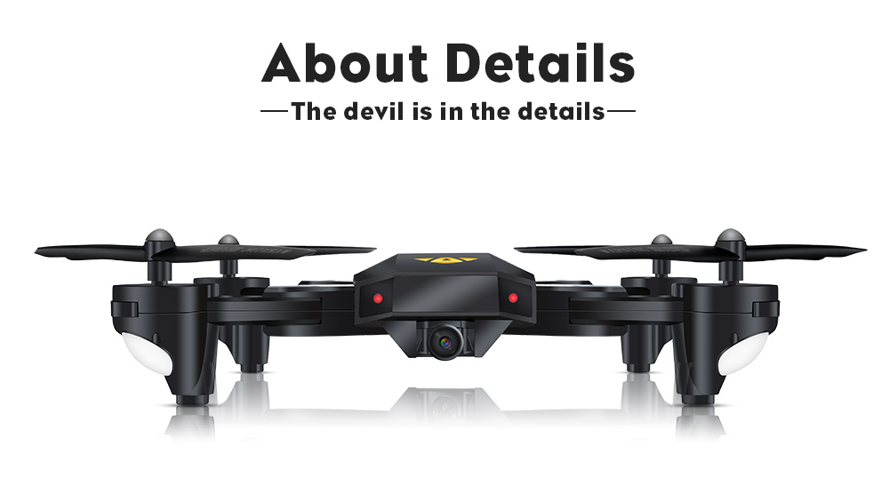 TIANQU XS809W RC Quadcopter 120 Degree Wide-angle Lens 2MP WiFi Camera Altitude Hold Drone RTF
