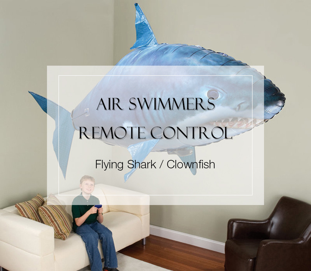 Air Swimmers Helium Remote Control Flying Shark