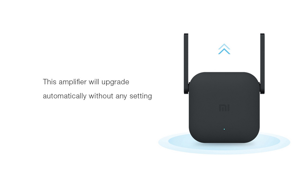 Original Xiaomi Pro 300M WiFi Amplifier for Mi Router- Black