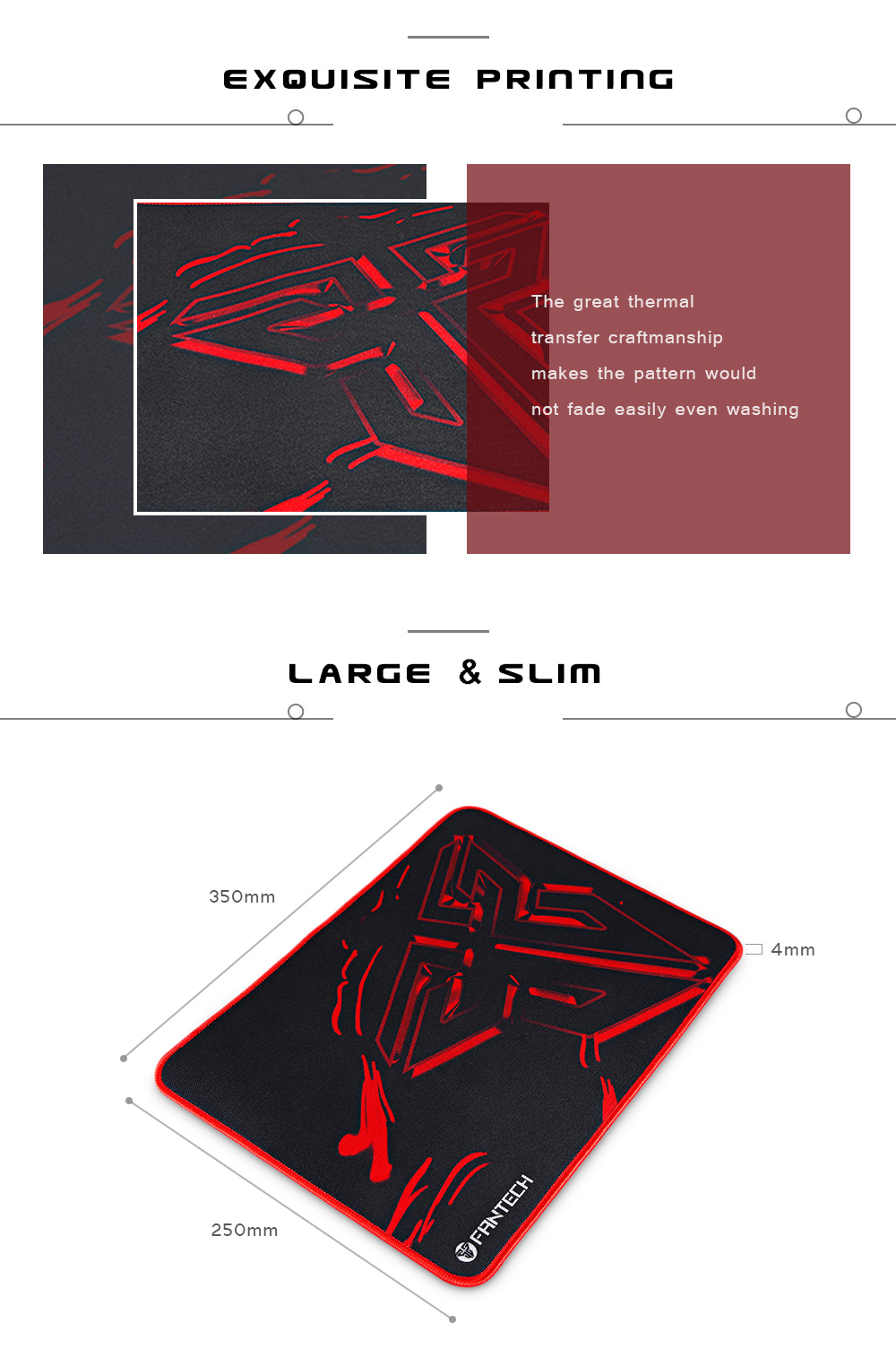 Fantech Mp35 Mouse Pad 300 X 250mm Guess You Like