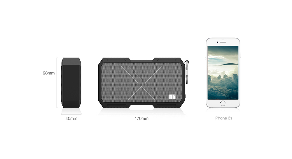 NILLKIN X1 X - MAN Bluetooth Speaker Portable Wireless Player with Hook