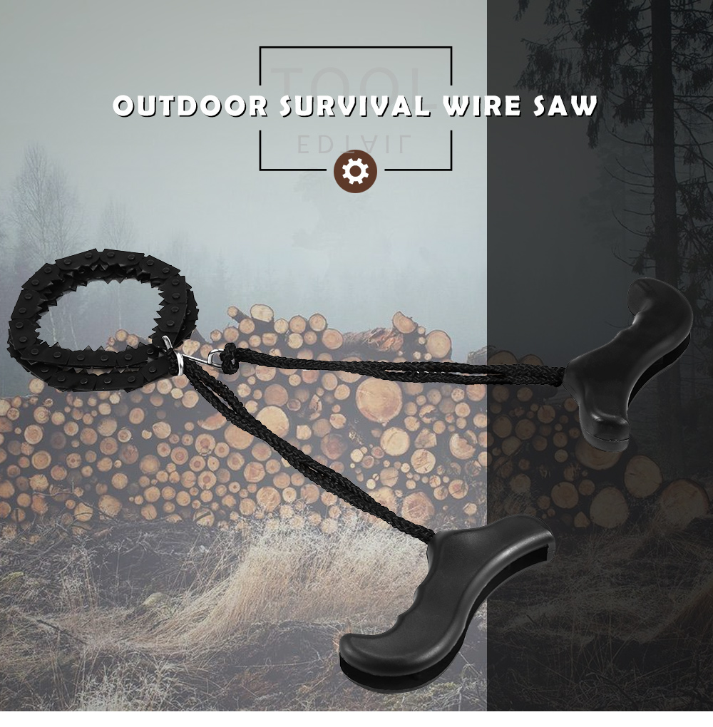 Outdoor Survival Wire Saw - $4.62 Free Shipping|GearBest.com