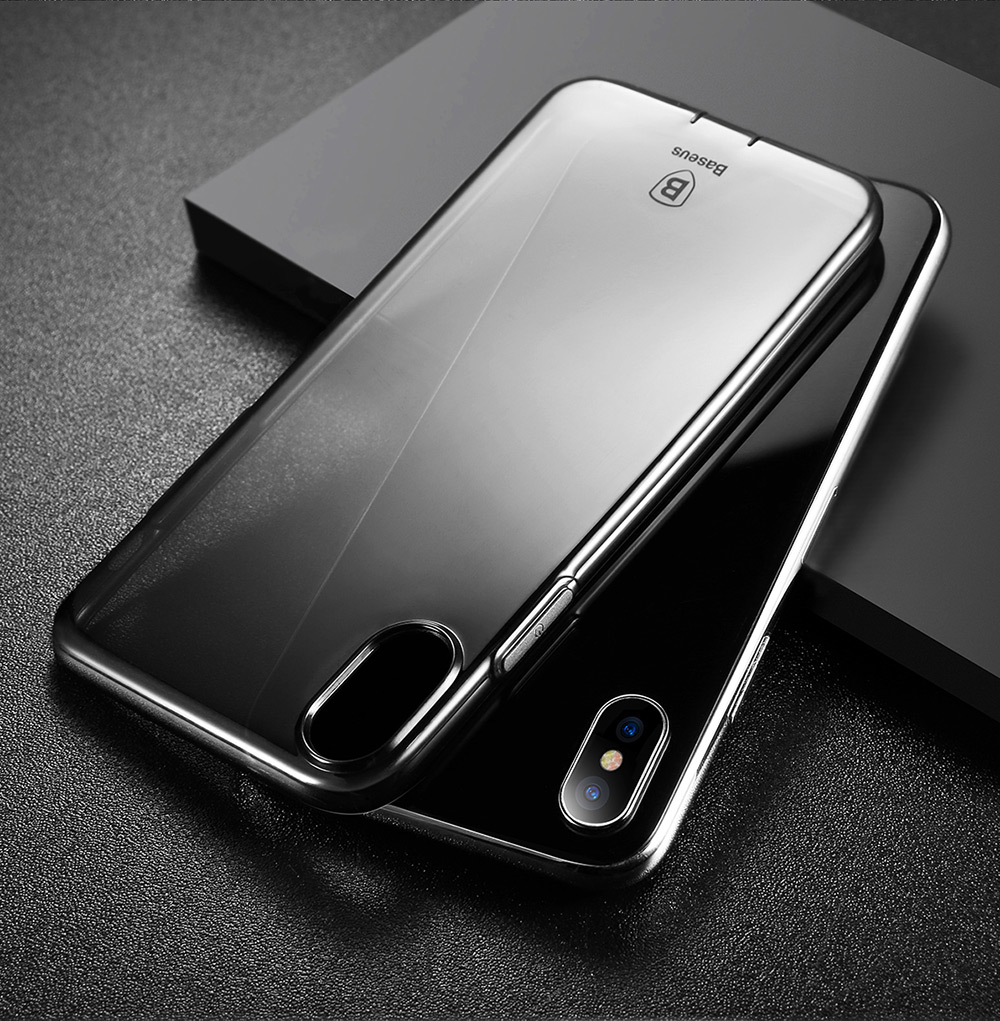 info for 6f928 56500 Baseus Simple Series Pluggy Case TPU Back Cover for iPhone X