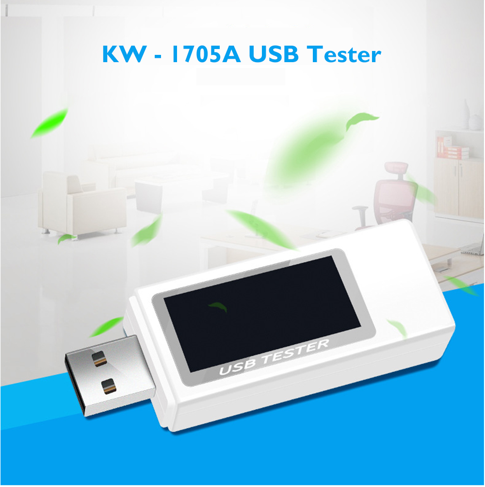 KW - 1705A USB Charging Detector Voltage Current Meter Capacity Tester