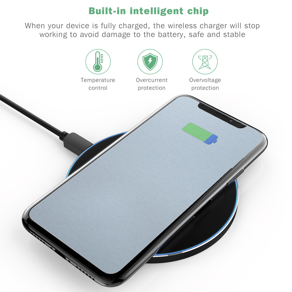 INCHOR C1 Ultra Slim Qi Wireless Fast Charger - $9.12 Free Shipping ...