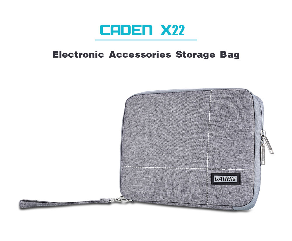 Electronic Accessories Travel Bag Space Pizza Cat USB Flash Drive Case Bag Wallet SD Memory Cards Cable Organizer