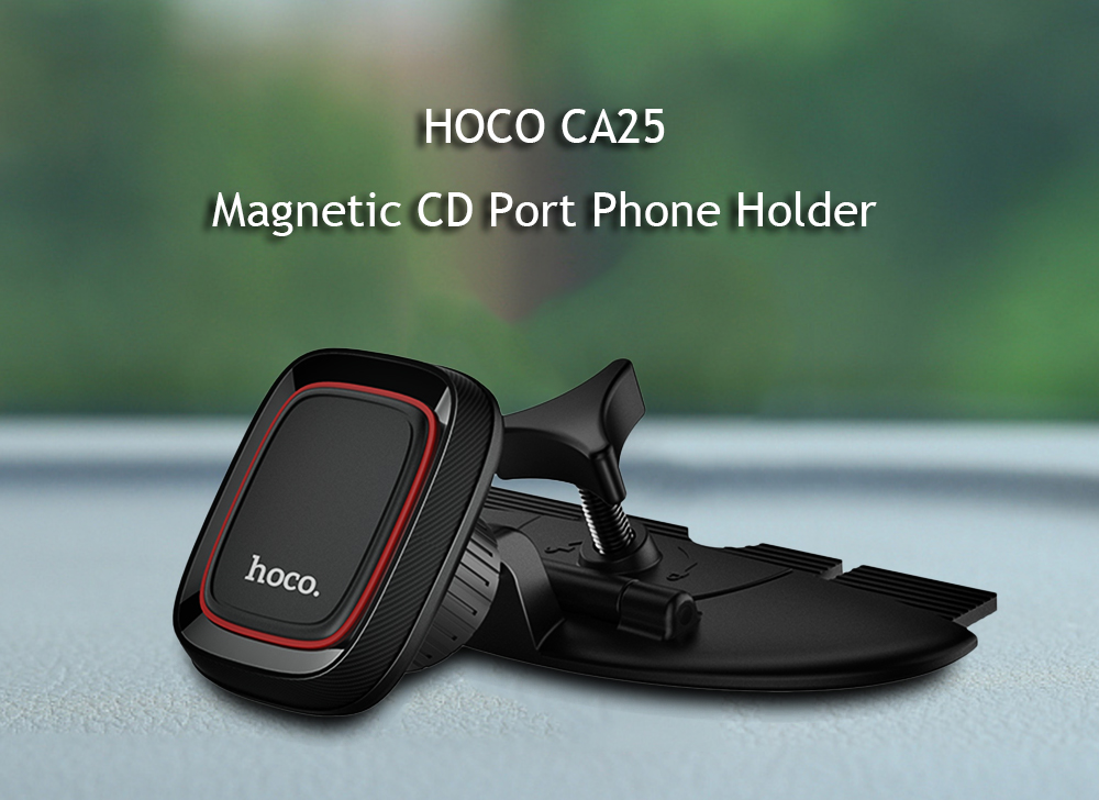 HOCO CA25 Magnetic CD Port Phone Holder Stand