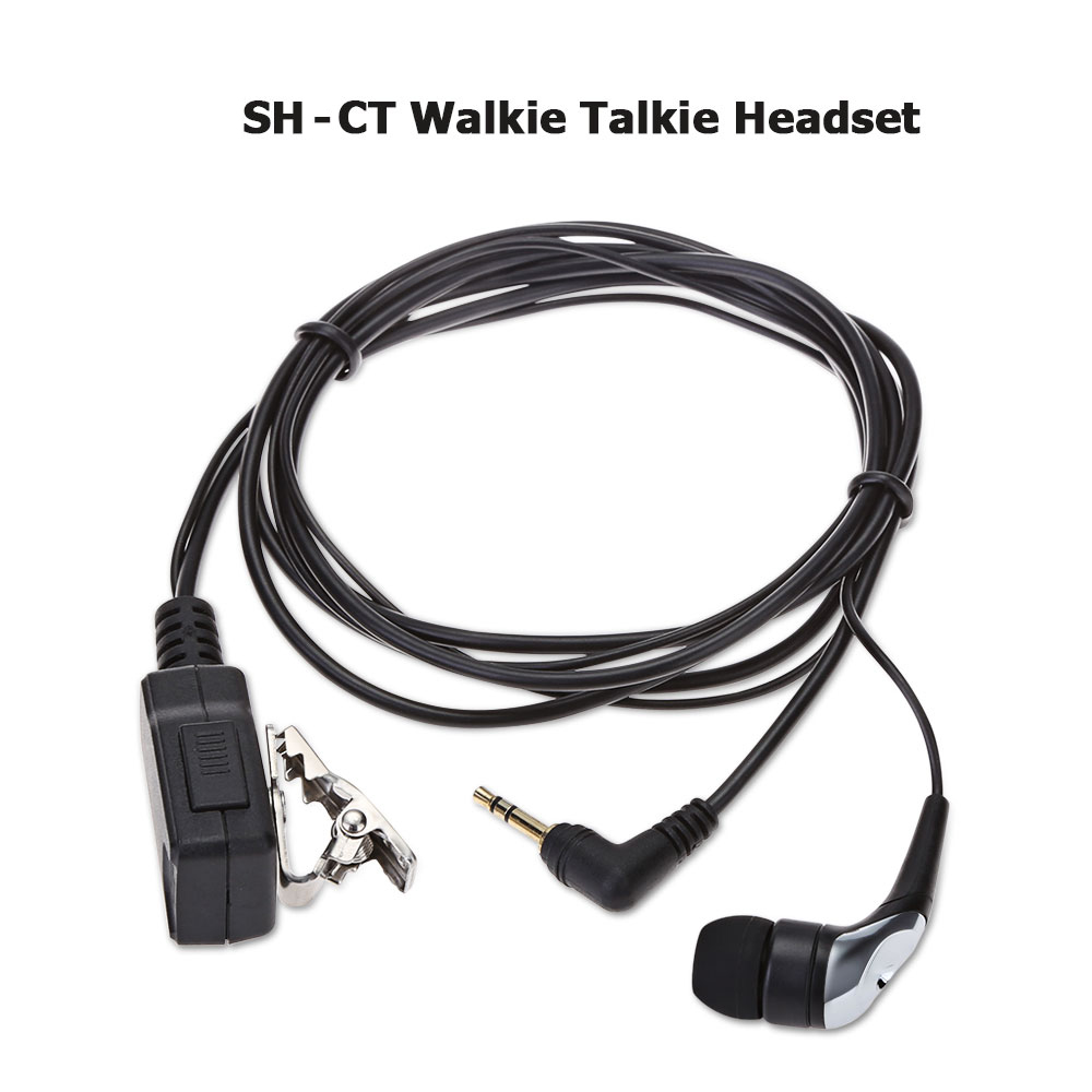 SH - CT Walkie Talkie Headset with Clip